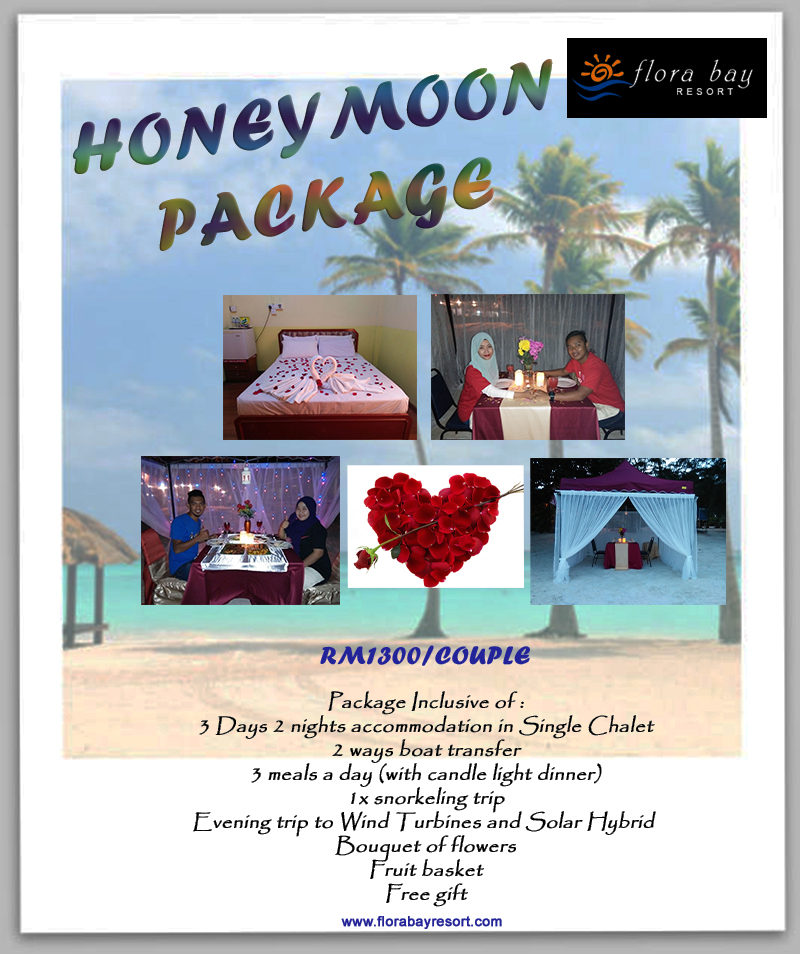 Flora Honeymoon Package 2016